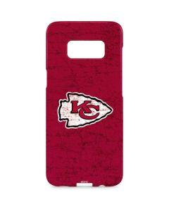 Kansas City Chiefs Distressed Galaxy S8 Plus Lite Case