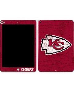 Kansas City Chiefs Distressed Apple iPad Skin