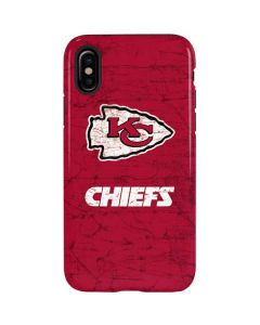Kansas City Chiefs Distressed iPhone X Pro Case