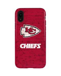 Kansas City Chiefs Distressed iPhone XR Pro Case