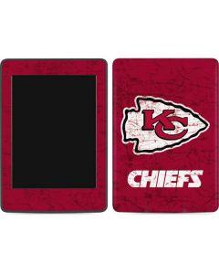 Kansas City Chiefs Distressed Amazon Kindle Skin
