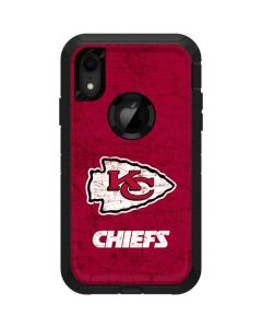 Kansas City Chiefs Distressed Otterbox Defender iPhone Skin