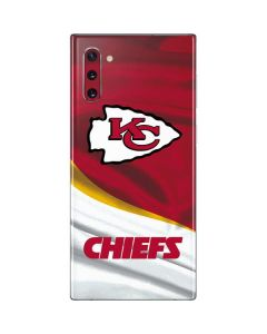 Kansas City Chiefs Galaxy Note 10 Skin