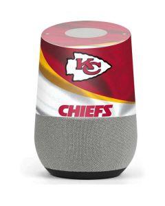 Kansas City Chiefs Google Home Skin