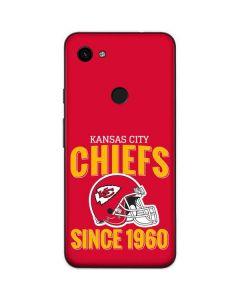 Kansas City Chiefs Helmet Google Pixel 3a Skin