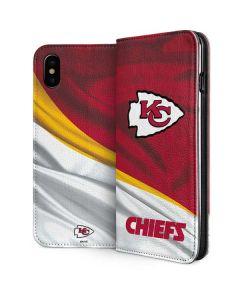 Kansas City Chiefs iPhone XS Max Folio Case