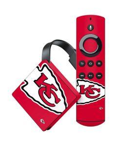 Kansas City Chiefs Large Logo Amazon Fire TV Skin