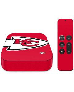 Kansas City Chiefs Large Logo Apple TV Skin