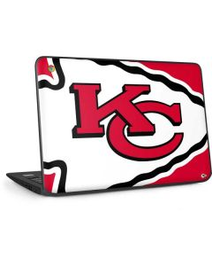 Kansas City Chiefs Large Logo HP Chromebook Skin