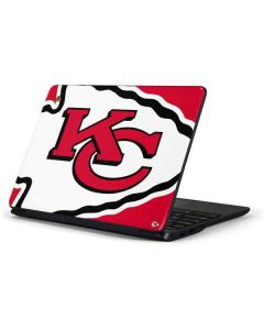 Kansas City Chiefs Large Logo Samsung Chromebook Skin