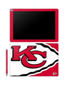Kansas City Chiefs Large Logo Galaxy Book 12in Skin