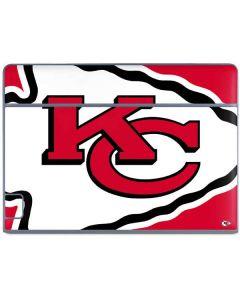 Kansas City Chiefs Large Logo Galaxy Book Keyboard Folio 10.6in Skin