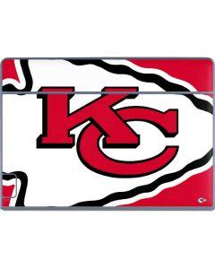 Kansas City Chiefs Large Logo Galaxy Book Keyboard Folio 12in Skin
