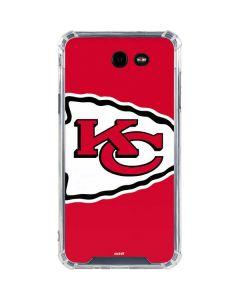 Kansas City Chiefs Large Logo Galaxy J7 (2017) Clear Case