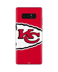 Kansas City Chiefs Large Logo Galaxy Note 8 Skin