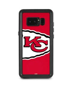 Kansas City Chiefs Large Logo Galaxy Note 8 Waterproof Case