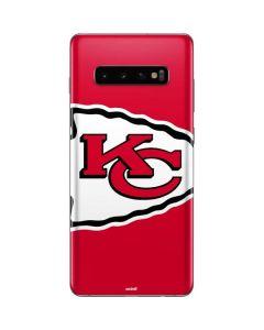 Kansas City Chiefs Large Logo Galaxy S10 Plus Skin
