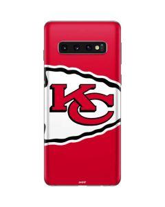 Kansas City Chiefs Large Logo Galaxy S10 Skin