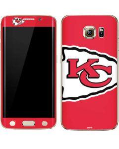Kansas City Chiefs Large Logo Galaxy S6 edge+ Skin