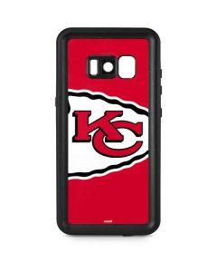 Kansas City Chiefs Large Logo Galaxy S8 Plus Waterproof Case