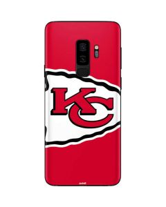Kansas City Chiefs Large Logo Galaxy S9 Plus Skin