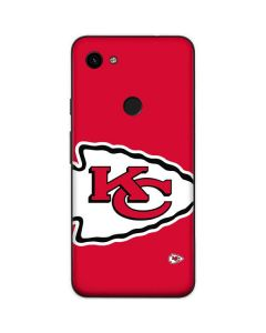 Kansas City Chiefs Large Logo Google Pixel 3a Skin