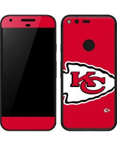 Kansas City Chiefs Large Logo Google Pixel Skin