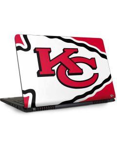 Kansas City Chiefs Large Logo Dell Inspiron Skin