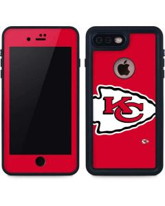 Kansas City Chiefs Large Logo iPhone 7 Plus Waterproof Case
