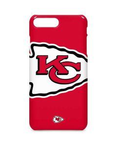 Kansas City Chiefs Large Logo iPhone 8 Plus Lite Case