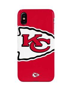 Kansas City Chiefs Large Logo iPhone XS Lite Case