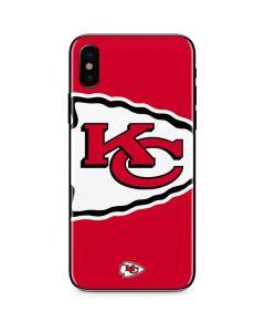 Kansas City Chiefs Large Logo iPhone XS Skin