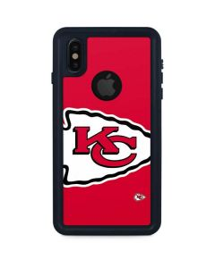 Kansas City Chiefs Large Logo iPhone XS Waterproof Case