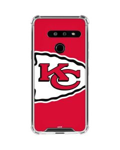 Kansas City Chiefs Large Logo LG G8 ThinQ Clear Case
