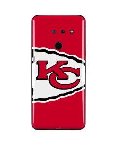Kansas City Chiefs Large Logo LG G8 ThinQ Skin