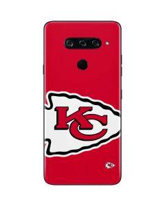 Kansas City Chiefs Large Logo LG V40 ThinQ Skin