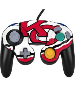 Kansas City Chiefs Large Logo Nintendo GameCube Controller Skin