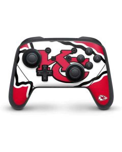 Kansas City Chiefs Large Logo Nintendo Switch Pro Controller Skin