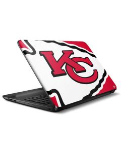 Kansas City Chiefs Large Logo HP Notebook Skin