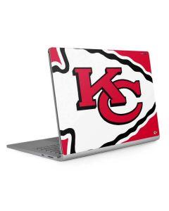 Kansas City Chiefs Large Logo Surface Book 2 13.5in Skin