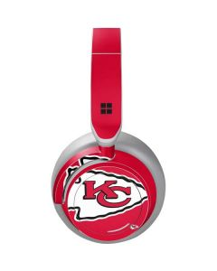 Kansas City Chiefs Large Logo Surface Headphones Skin