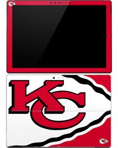 Kansas City Chiefs Large Logo Surface Pro (2017) Skin