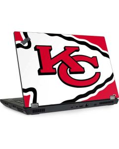 Kansas City Chiefs Large Logo Lenovo ThinkPad Skin
