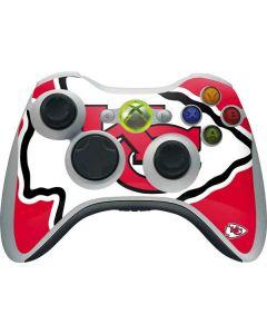 Kansas City Chiefs Large Logo Xbox 360 Wireless Controller Skin