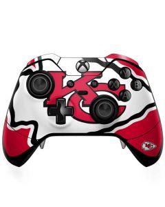 Kansas City Chiefs Large Logo Xbox One Elite Controller Skin