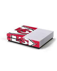 Kansas City Chiefs Large Logo Xbox One S Console Skin