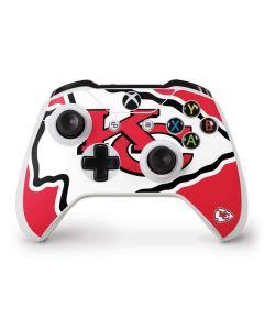 Kansas City Chiefs Large Logo Xbox One S Controller Skin