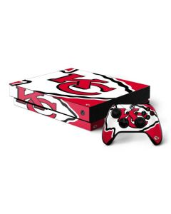 Kansas City Chiefs Large Logo Xbox One X Bundle Skin