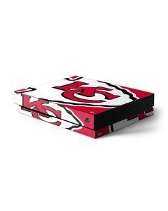 Kansas City Chiefs Large Logo Xbox One X Console Skin