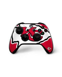 Kansas City Chiefs Large Logo Xbox One X Controller Skin